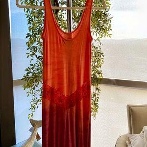 MIJO Michelle Jonas Liza Tie Dye Lace Maxi Dress